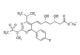 (3S,5R)-Rosuvastatin Sodium Salt
