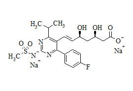 N-Desmethyl Rosuvastatin Disodium Salt