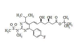 tert-Butyl Rosuvastatin (Rosuvastatin Impurity)