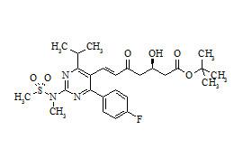 Rosuvastatin Impurity (5-Oxo Rosuvastatin tert-Butyl Ester)