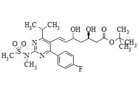 (3R,5R)-tert-Butyl Rosuvastatin (Rosuvastatin Impurity)