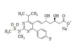 (3R,5R)-Rosuvastatin Sodium Salt