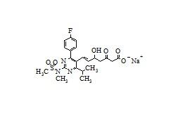 3-Oxo Rosuvastatin Sodium Salt