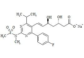 (3S,5S)-Rosuvastatin Sodium Salt