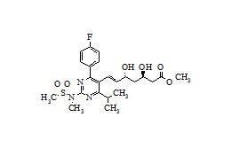 (3R,5R)-Rosuvastatin Methyl Ester