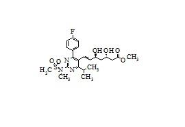 (3S,5S)-Rosuvastatin Methyl Ester