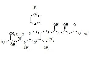 Rosuvastatin Related Compound 01 Sodium Salt