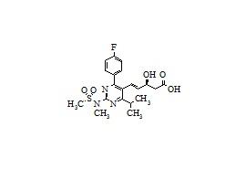 Rosuvastatin Substituted Hydroxy Pentenoic Acid