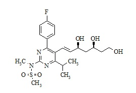 Rosuvastatin impurity (3,5,7-trihydroxy)