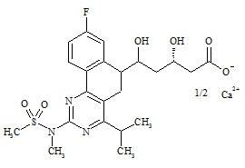 Rosuvastatin EP Impurity I Calcium Salt
