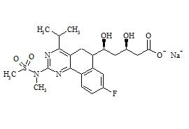 Rosuvastatin Impurity H Sodium Salt (Mixture of Diastereomers)
