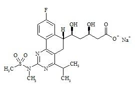 Rosuvastatin Impurity 1 Sodium Salt