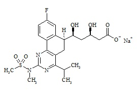 Rosuvastatin Impurity 2 Sodium Salt