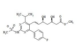 N-Desmethyl Rosuvastatin Methyl Ester