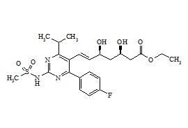 N-Desmethyl Rosuvastatin Ethyl Ester