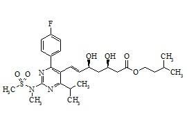 Rosuvastatin Isopentyl Ester