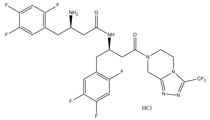 Sitagliptin Impurity 18 HCl