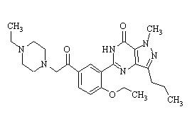 Acetildenafil (Hongdenafil)