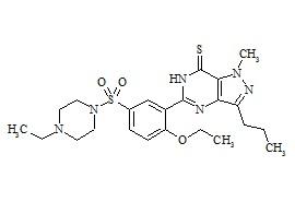 Thiohomosildenafil