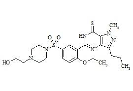 Hydroxythiohomosildenafil
