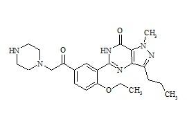 N-Desmethyl Acetildenafil