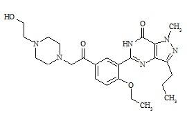 Hydroxyacetildenafil