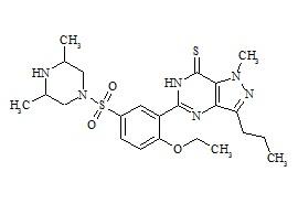 Thiodimethyl Sildenafil (Thioaildenafill, Sulfoaildenafil)