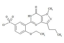 Sildenafil chlorosulfonyl