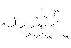 Hydroxychlorodenafil