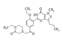 Oxohongdenafil