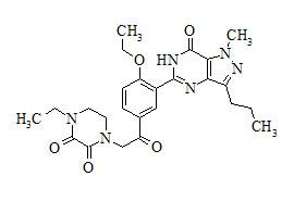 Dioxohongdenafil