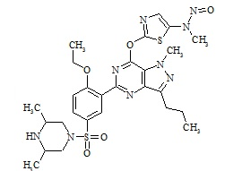 Nitroso-prodenafil