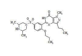 Sildenafil Analogue {5-(5-(3,5-dimethyl-1-piperazinyl)sulfonyl]-2-