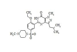 Sildenafil Impurity A (Isobutyl Sildenafil)