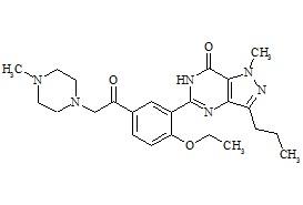 Nor-acetildenafil