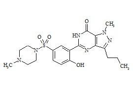 O-Desethyl Sildenafil (Sildenafil Impurity C)