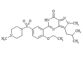 Sildenafil Impurity A Related Compound (Isomer of Isobutyl Sildenafil)