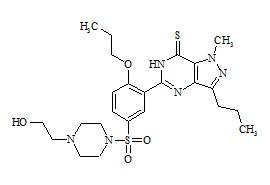 Sildenafil Analogue I (Propoxyphenyl-Thiohydroxyhomosildenafil)