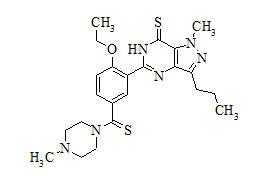 Dithio-Desmethyl Carbodenafil