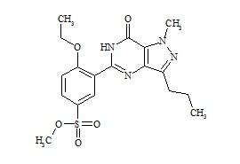 Sildenafil Methyl Sulfonate Ester Impurity