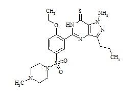 Aminothiosildenafil