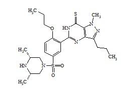 Propoxyphenyl Thioaildenafil