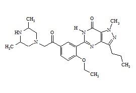 Dimethylacetildenafil