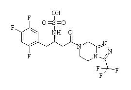 Sitagliptin-N-sulfate
