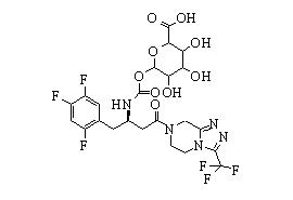 Sitagliptin carbamoyl glucuronide