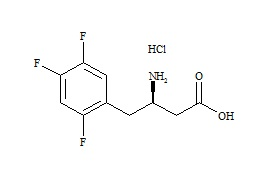Sitagliptin Acid Impurity HCl