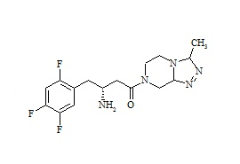 Sitagliptin Defluoro Impurity 2