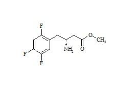 (R)-Sitagliptin Methyl-Ester Impurity