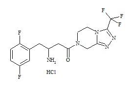 Sitagliptin Defluoro Impurity 5