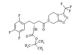 Sitagliptin N-Boc Impurity